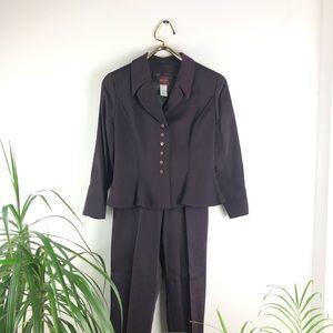 Kenzo Purple Pant Suit Set